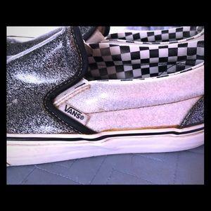 Vans Glitter Skate Shoes